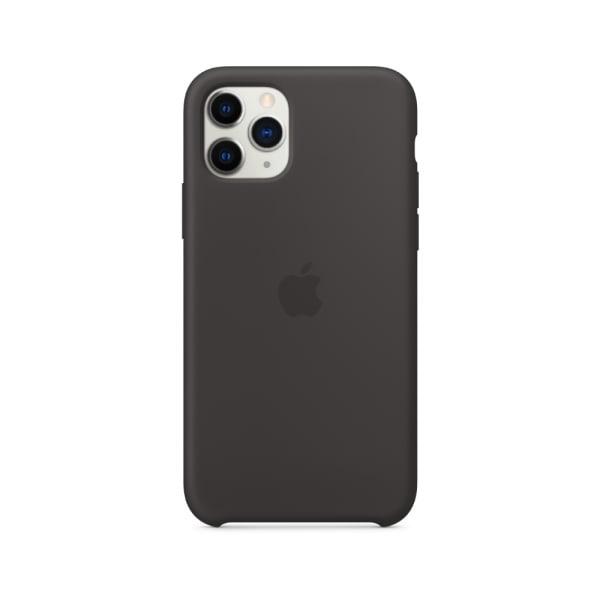 iPhone 11 Pro Silicone Case - Black 1