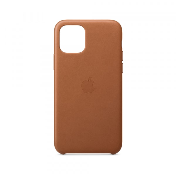 iPhone 11 Pro Leather Case - Saddle Brown 1