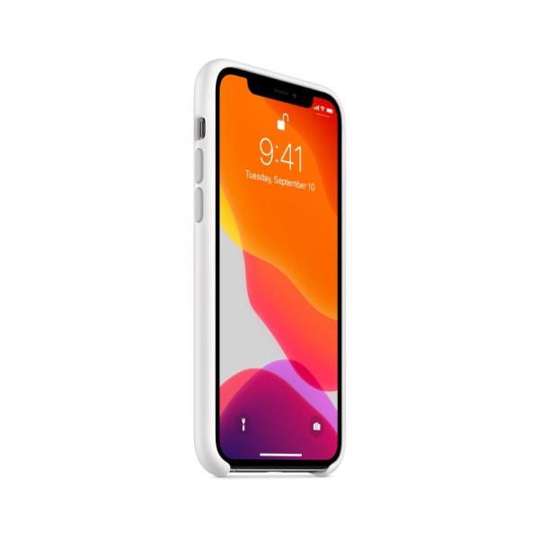 iPhone 11 Pro Silicone Case - White 0