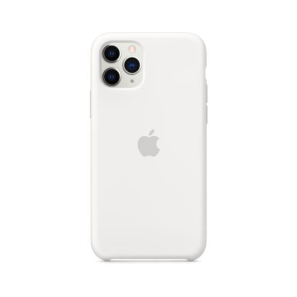 iPhone 11 Pro Silicone Case - White 1