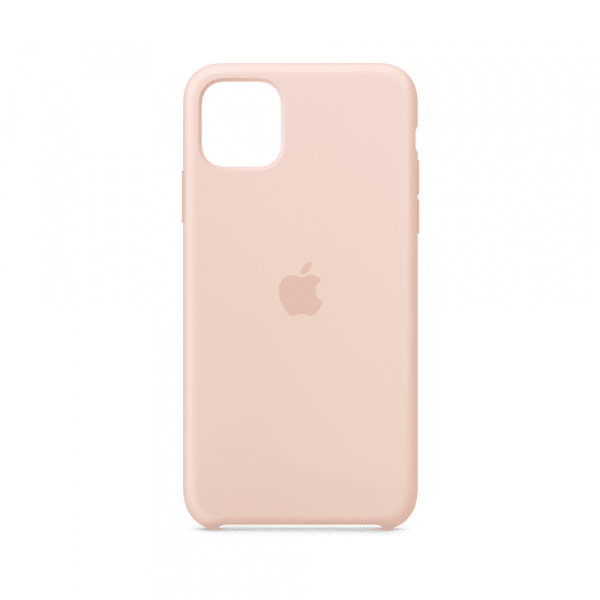iPhone 11 Pro Max Silicone Case - Pink Sand 1