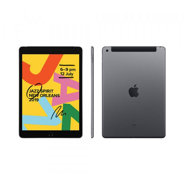 iPad (7th Gen) Wi-Fi + Cellular 32GB - Space Grey 1