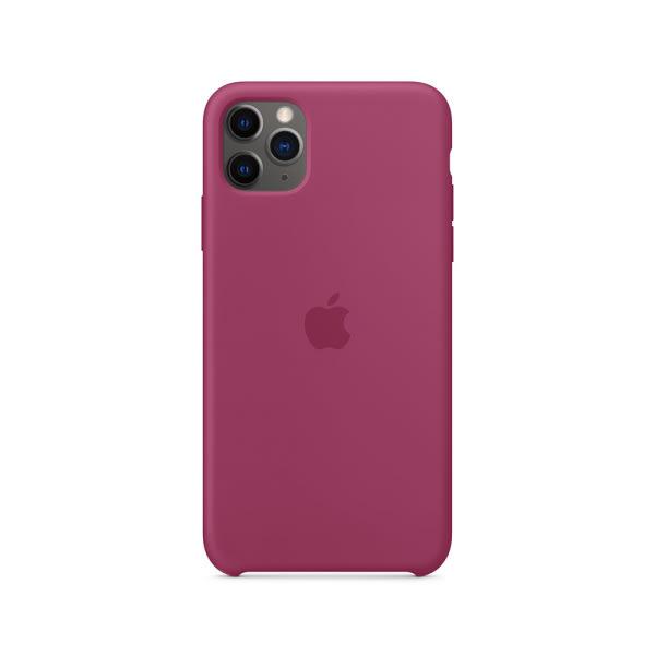 iPhone 11 Pro Max Silicone Case - Pomegranate 0
