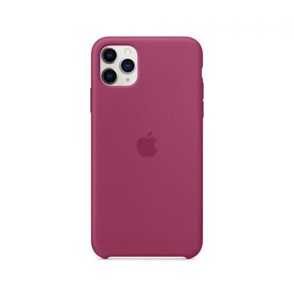 iPhone 11 Pro Max Silicone Case - Pomegranate 3