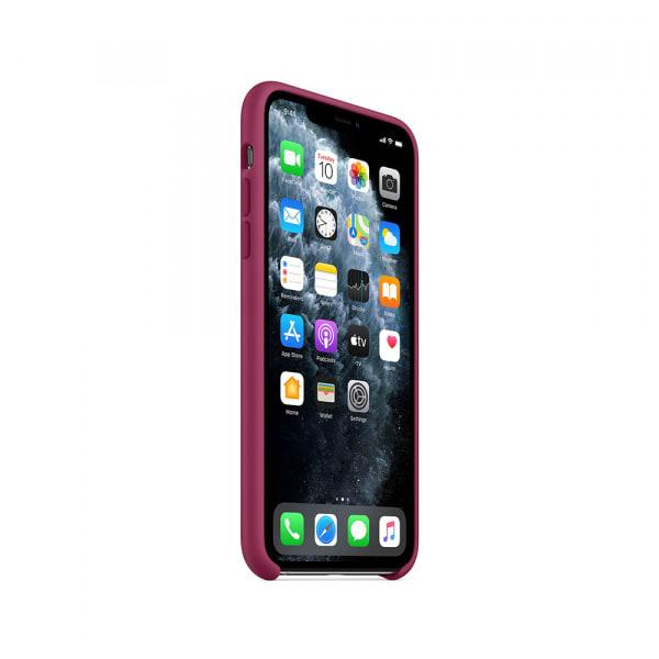 iPhone 11 Pro Max Silicone Case - Pomegranate 1