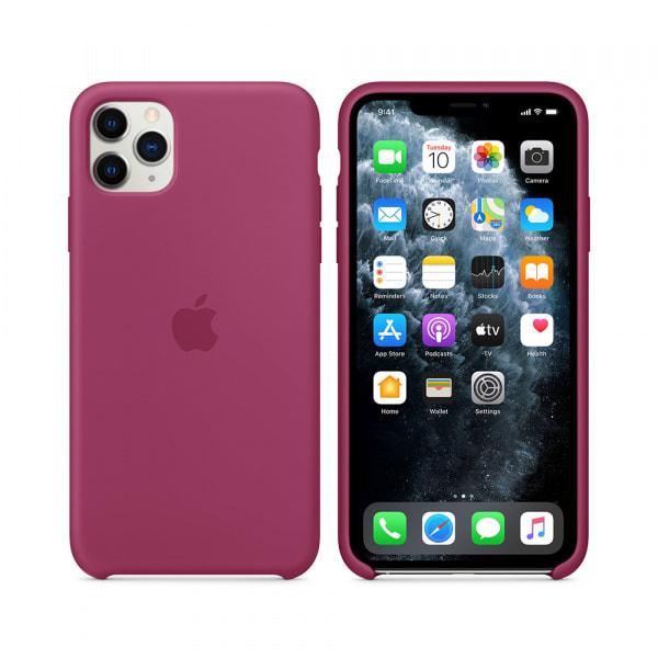 iPhone 11 Pro Max Silicone Case - Pomegranate 5