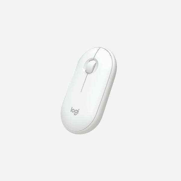 LOGITECH Pebble M350 Wireless Mouse - Off White 0
