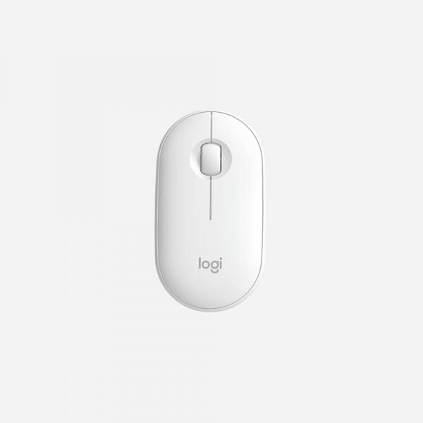 LOGITECH Pebble M350 Wireless Mouse - Off White 1