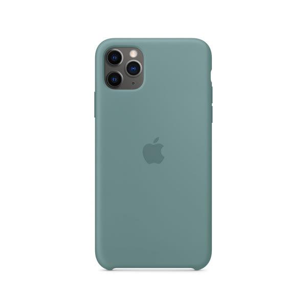 iPhone 11 Pro Max Silicone Case - Cactus 0