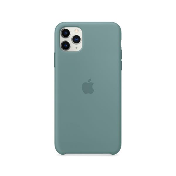 iPhone 11 Pro Max Silicone Case - Cactus 1