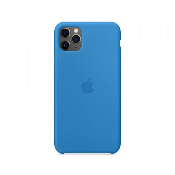iPhone 11 Pro Max Silicone Case - Surf Blue 0