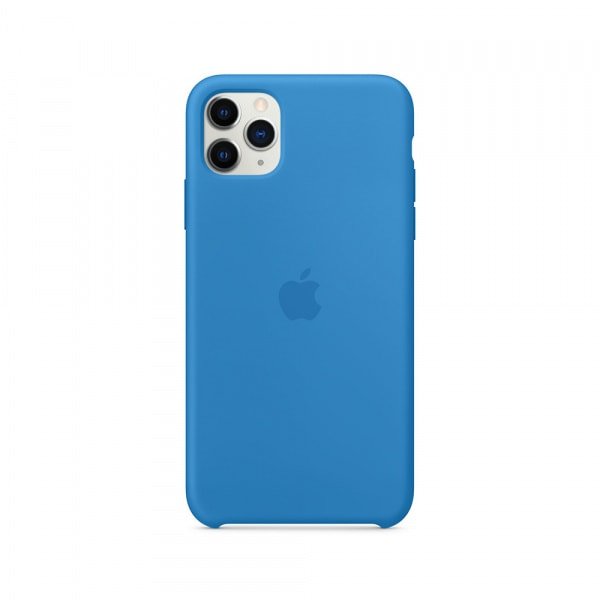 iPhone 11 Pro Max Silicone Case - Surf Blue 1