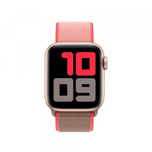 40mm Neon Pink Sport Loop 2