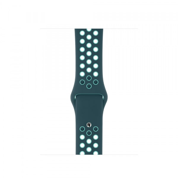 40mm Midnight Turquoise/Aurora Green Nike Sport Band - Regular 0
