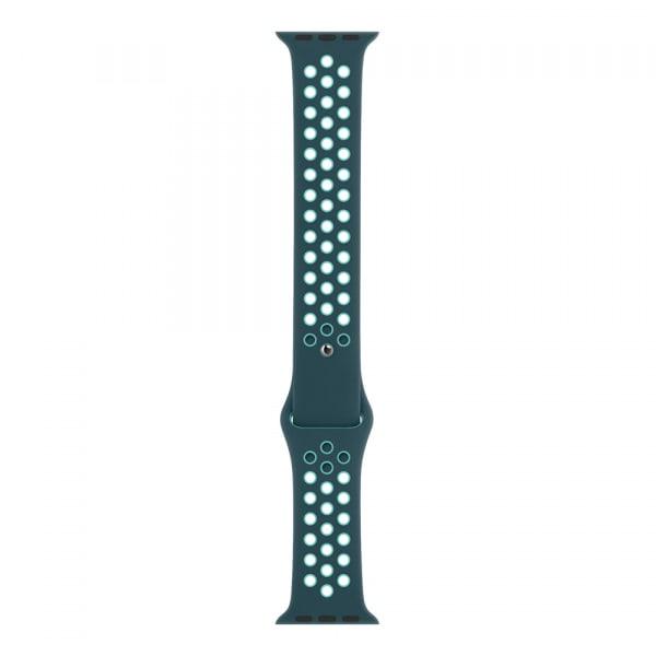 40mm Midnight Turquoise/Aurora Green Nike Sport Band - Regular 1