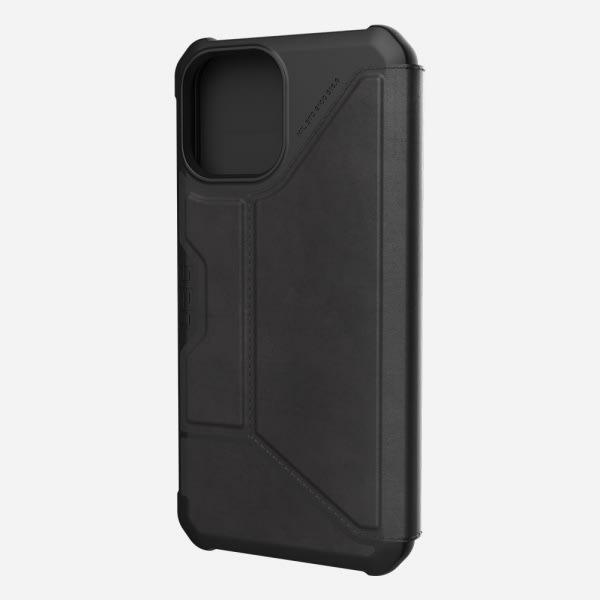 UAG Metropolis Case for iPhone 12 Pro Max - Leather Black 0