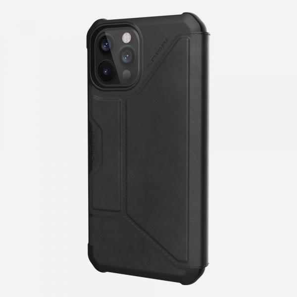 UAG Metropolis Case for iPhone 12 Pro Max - Leather Black 1