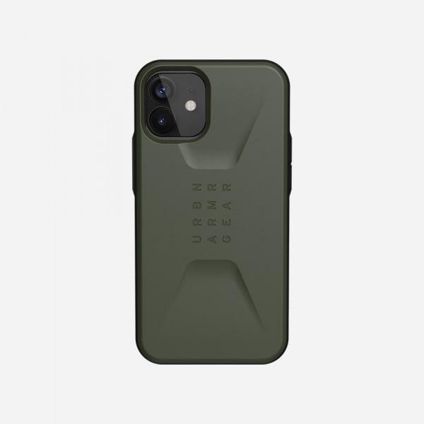 UAG Civilian Case for iPhone 12 Mini - Olive 7