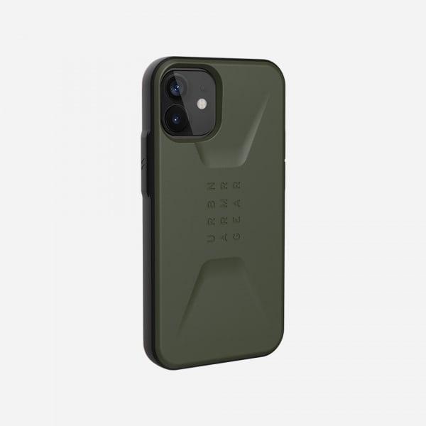 UAG Civilian Case for iPhone 12 Mini - Olive 2