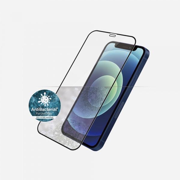PANZERGLASS Case Friendly Black for iPhone 12 mini - Clear 1