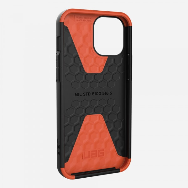 UAG Civilian Case for iPhone 12 Pro Max - Black 2