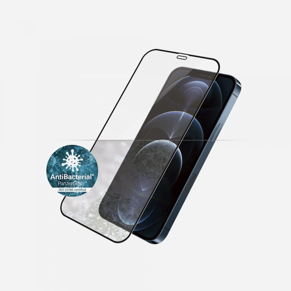 PANZERGLASS Case Friendly Black for iPhone 12 Pro Max - Clear 0