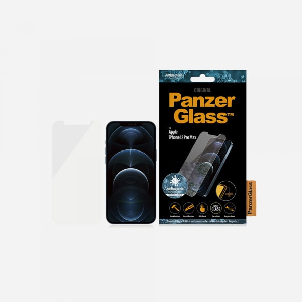 PANZERGLASS Standard Fit for iPhone 12 Pro Max - Clear 1
