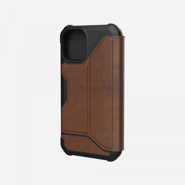 UAG Metropolis Case for iPhone 12 Mini - Leather Brown 2