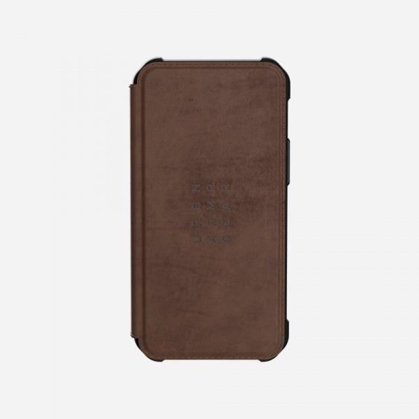 UAG Metropolis Case for iPhone 12 Mini - Leather Brown 5