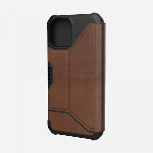 UAG Metropolis Case for iPhone 12/12 Pro - Leather Brown 0