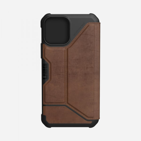 UAG Metropolis Case for iPhone 12/12 Pro - Leather Brown 1