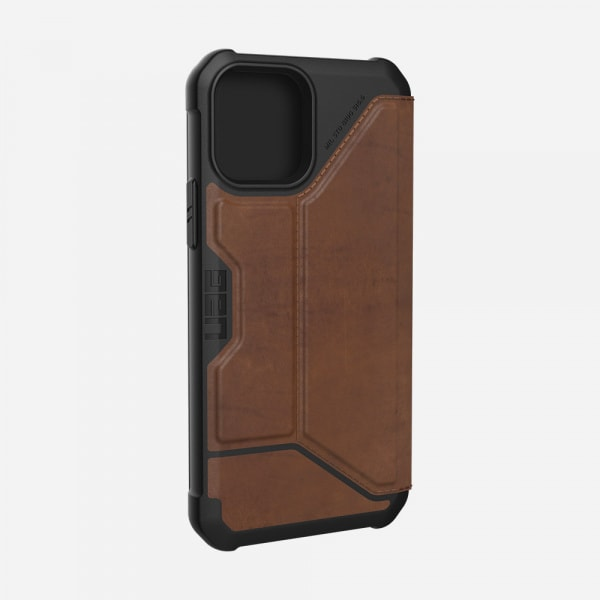 UAG Metropolis Case for iPhone 12/12 Pro - Leather Brown 4