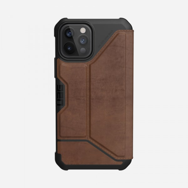 UAG Metropolis Case for iPhone 12/12 Pro - Leather Brown 5