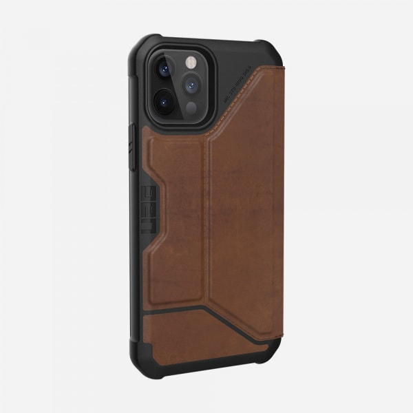 UAG Metropolis Case for iPhone 12/12 Pro - Leather Brown 6