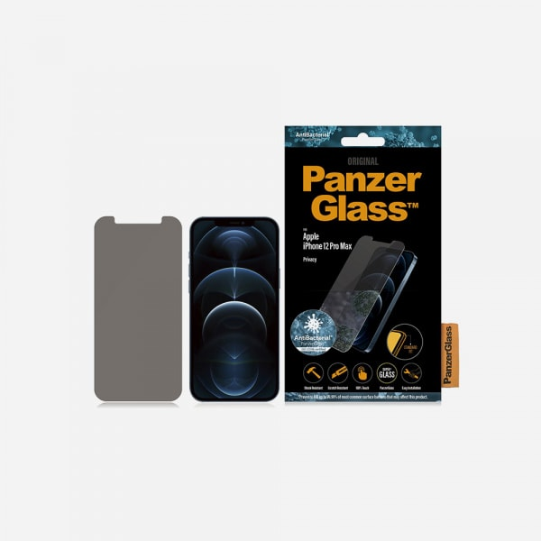 PANZERGLASS Standard Fit for iPhone 12 Pro Max - Privacy 1