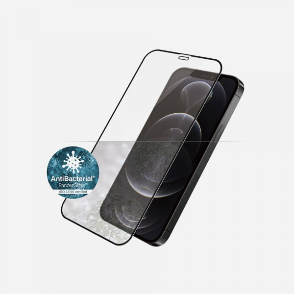 PANZERGLASS Case Friendly Black for iPhone 12 / 12 Pro - Clear 0