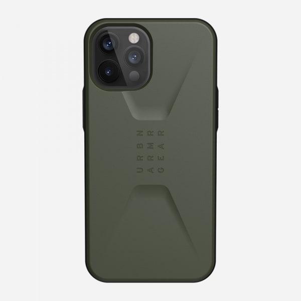 UAG Civilian Case for iPhone 12 Pro Max - Olive 5