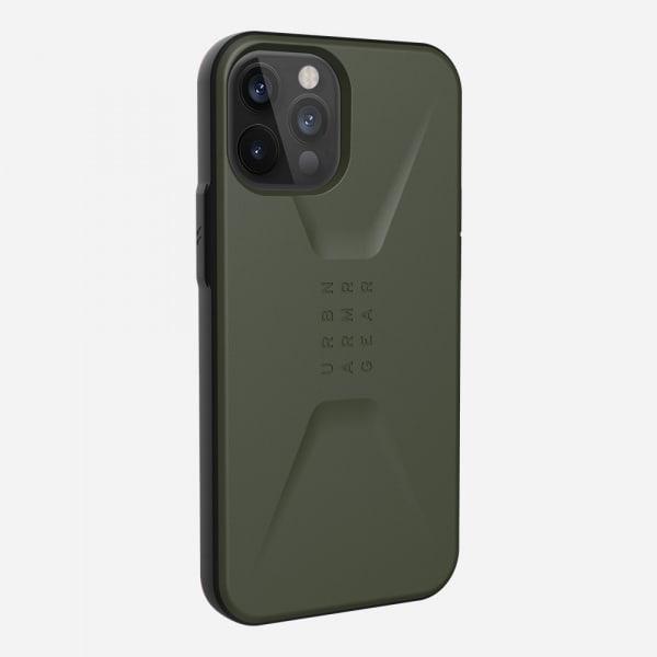 UAG Civilian Case for iPhone 12 Pro Max - Olive 6