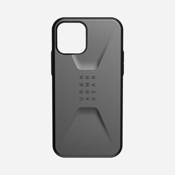 UAG Civilian Case for iPhone 12/12 Pro - Silver 0