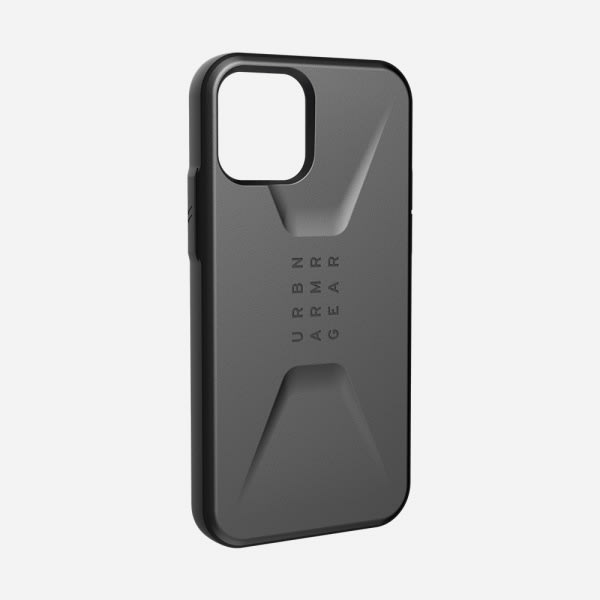 UAG Civilian Case for iPhone 12/12 Pro - Silver 1