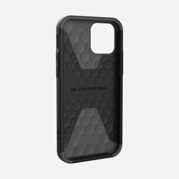 UAG Civilian Case for iPhone 12/12 Pro - Silver 2