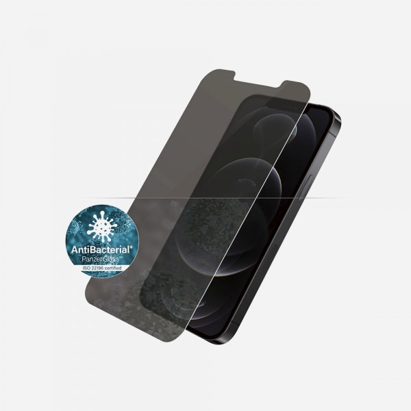 PANZERGLASS Standard Fit for iPhone 12 / 12 Pro - Privacy 1