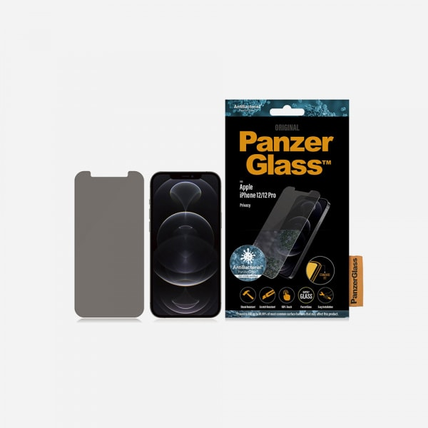 PANZERGLASS Standard Fit for iPhone 12 / 12 Pro - Privacy 2