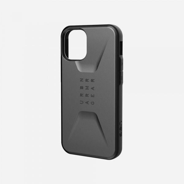 UAG Civilian Case for iPhone 12 Mini - Silver 0