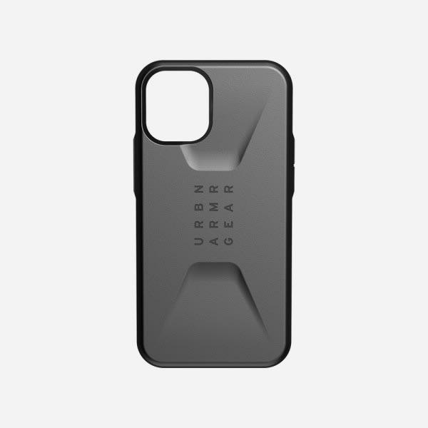 UAG Civilian Case for iPhone 12 Mini - Silver 1