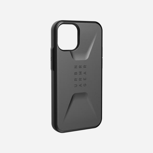 UAG Civilian Case for iPhone 12 Mini - Silver 5