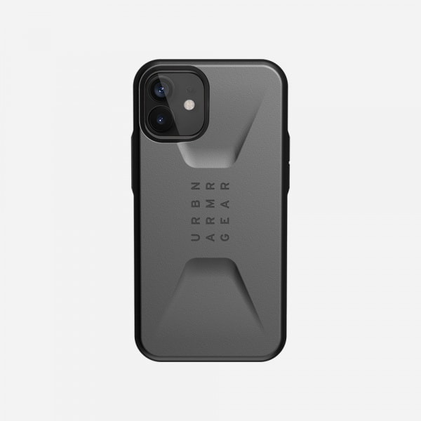 UAG Civilian Case for iPhone 12 Mini - Silver 2