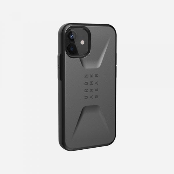 UAG Civilian Case for iPhone 12 Mini - Silver 4