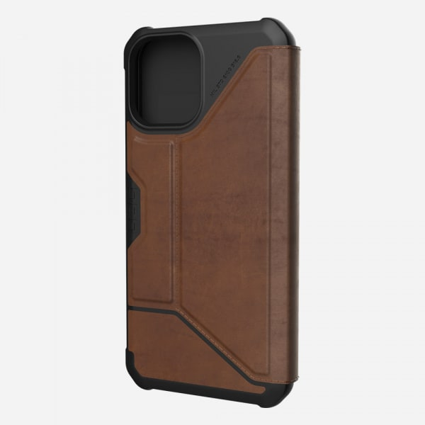 UAG Metropolis Case for iPhone 12 Pro Max - Leather Brown 0
