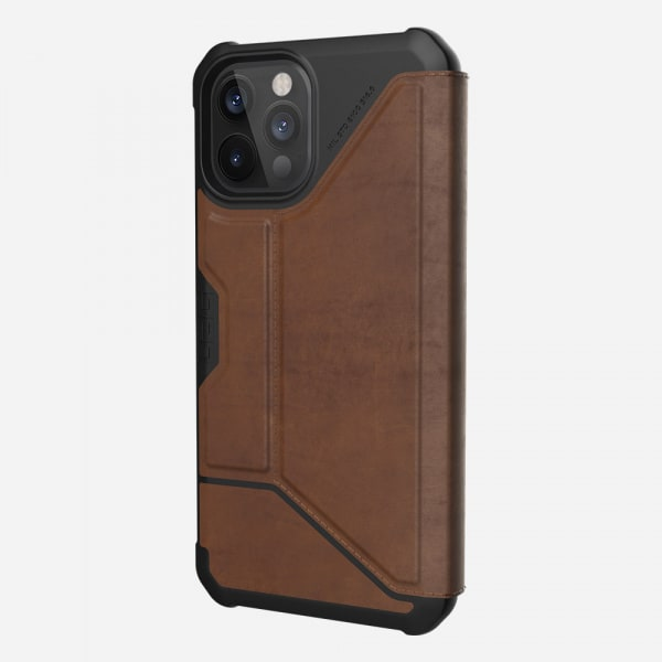 UAG Metropolis Case for iPhone 12 Pro Max - Leather Brown 1